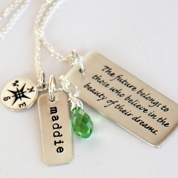 graduation necklace graduation gift for daughter college