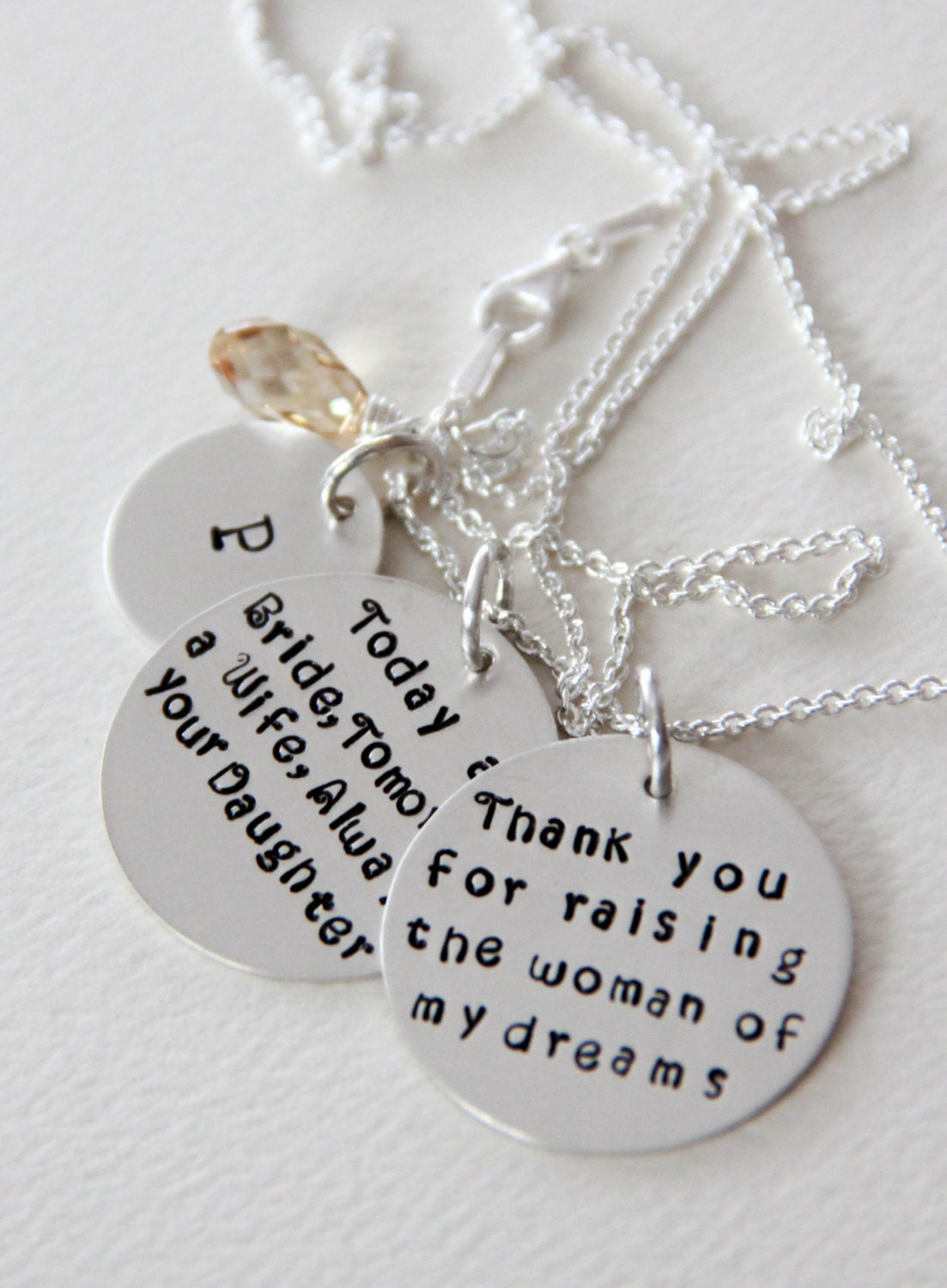 Mother of The Bride Necklace Mother of The by ...