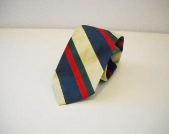Vintage Ralph Lauren Striped Silk Necktie