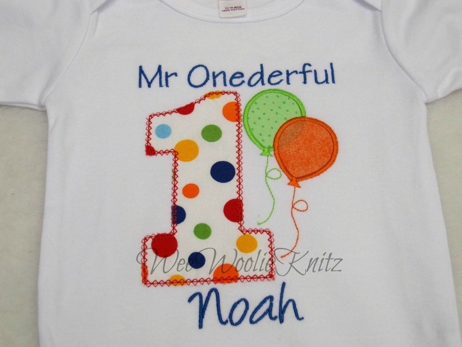 First Birthday Shirt Boy Personalized