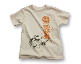 "Personalized ""I"" for Ibex - Organic Kids T-shirt"