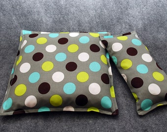 Corn Bag Microwave Heating Pad -- Skipping Stones Gift Set