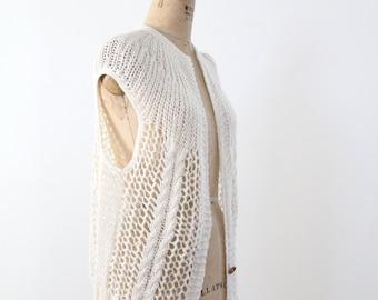 1980s crotchet vest