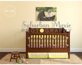 Realistic Room Photographer's Wall Display Template Nursery No. 1 Canvas Singles