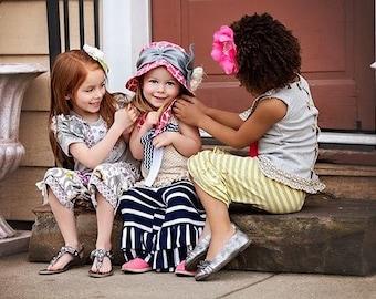 Girls Outfit - Girls Top - Girls Capris - Girls Summer Set