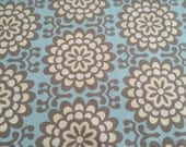 Reserved listing 2 yards of Amy Butler wallflower sky