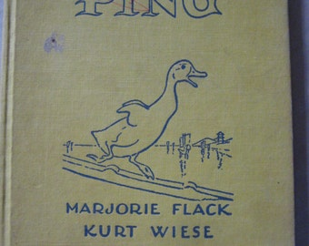 The Story About Ping 1967 Marjorie Flack Kurt Wiese
