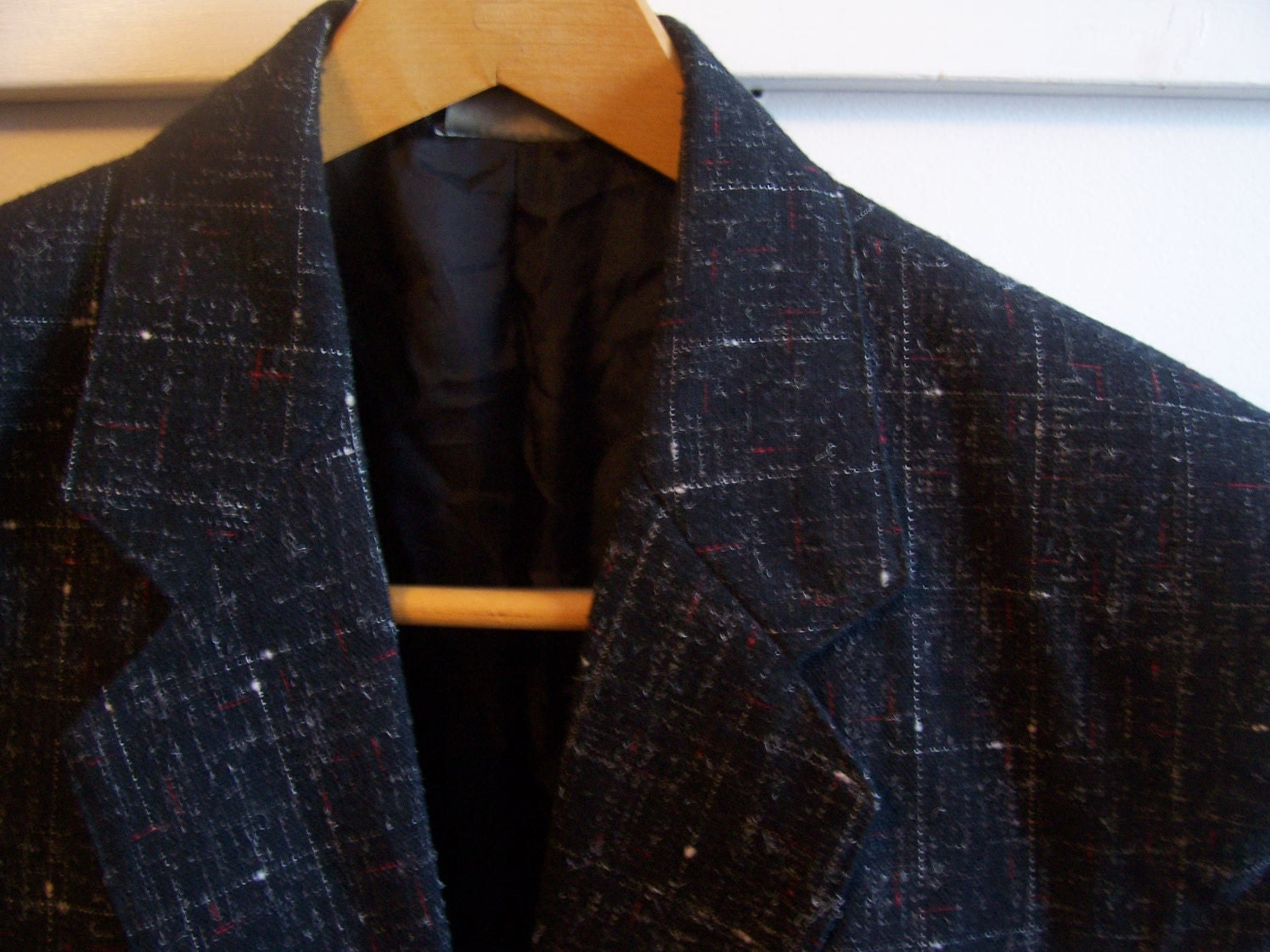 Vintage Atomic Flecked Nubby Sport Coat Rockabilly Vlv Size