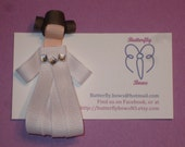 Princess Leia Inspired Hair Clip