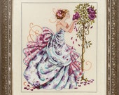 ROSES OF PROVENCE - Mirabilia Counted Cross Stitch Pattern Needlework Chart Pattern