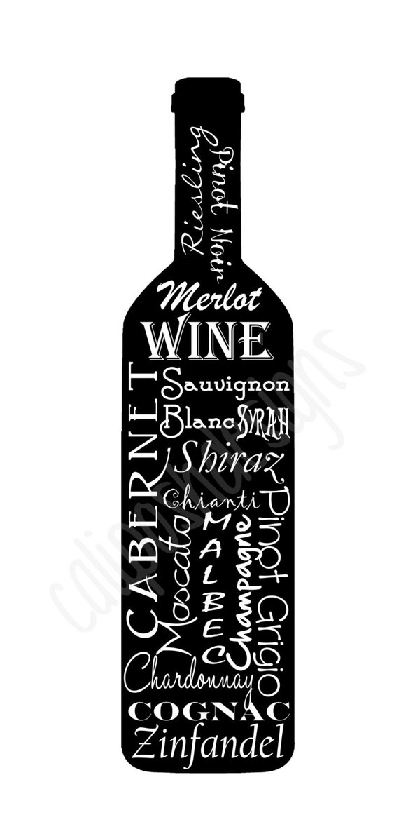 Items Similar To Wine Bottle Subway Art Wall Decor On