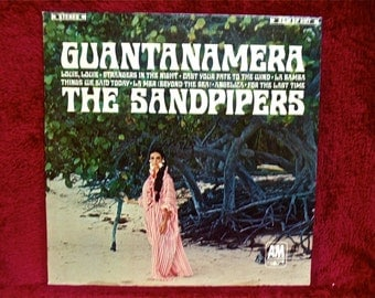 THE SANDPIPERS - Guantamamera - 1966 Vintage Vinyl Record Album