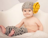 Abby's Lace Hat and Flower with Rumba Ruffles Leg Warmers Crochet Patterns (275)