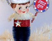 July Fourth Ornament Feather Tree Decoration 4