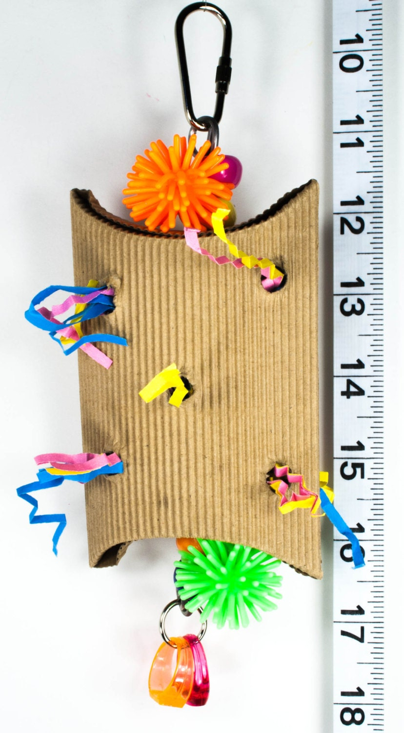 Toys And Tears : Foraging box tear up parrot toys bird toy parts by a