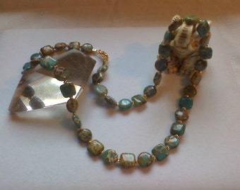 Her Majesty's Imperial Jasper Necklace