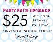 PARTY PACK UPGRADE