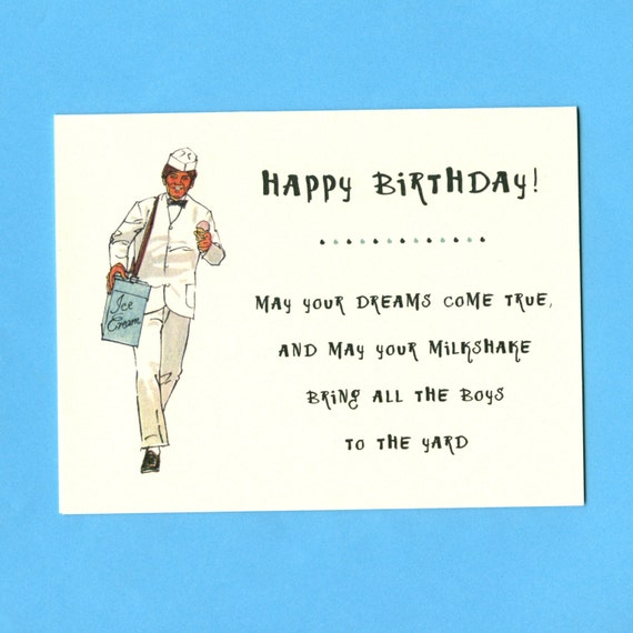 Funny BIRTHDAY Card - YOUR MILKSHAKE - Weird Birthday Card - Adult ...: https://www.etsy.com/listing/127667270/funny-birthday-card-your...