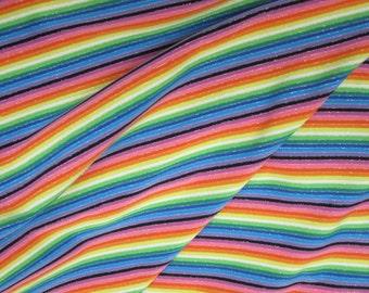 Glitterati Rainbow Nylon Spandex Bathing Suit