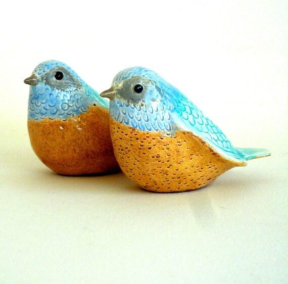 Птицы из глины