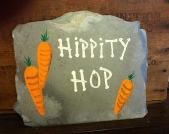 Hippity Hop Spring Plaque
