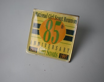 Girl Scout 85th Year Anniversary Pin