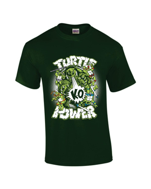 Turtle power gamera ninja turtle parody t shirt for Where can i buy ninja turtle shirts