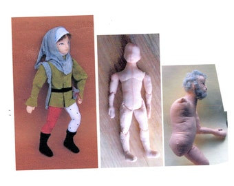 Male doll e-pattern for beginners.