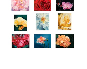 """Fine Art Print Roses 16x20"""" Prints Pick 4 Pay for 3-Wall Decor-Home Decor by Peggy Martinez"""