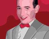 Pee-Wee Herman Paint By Number Kit