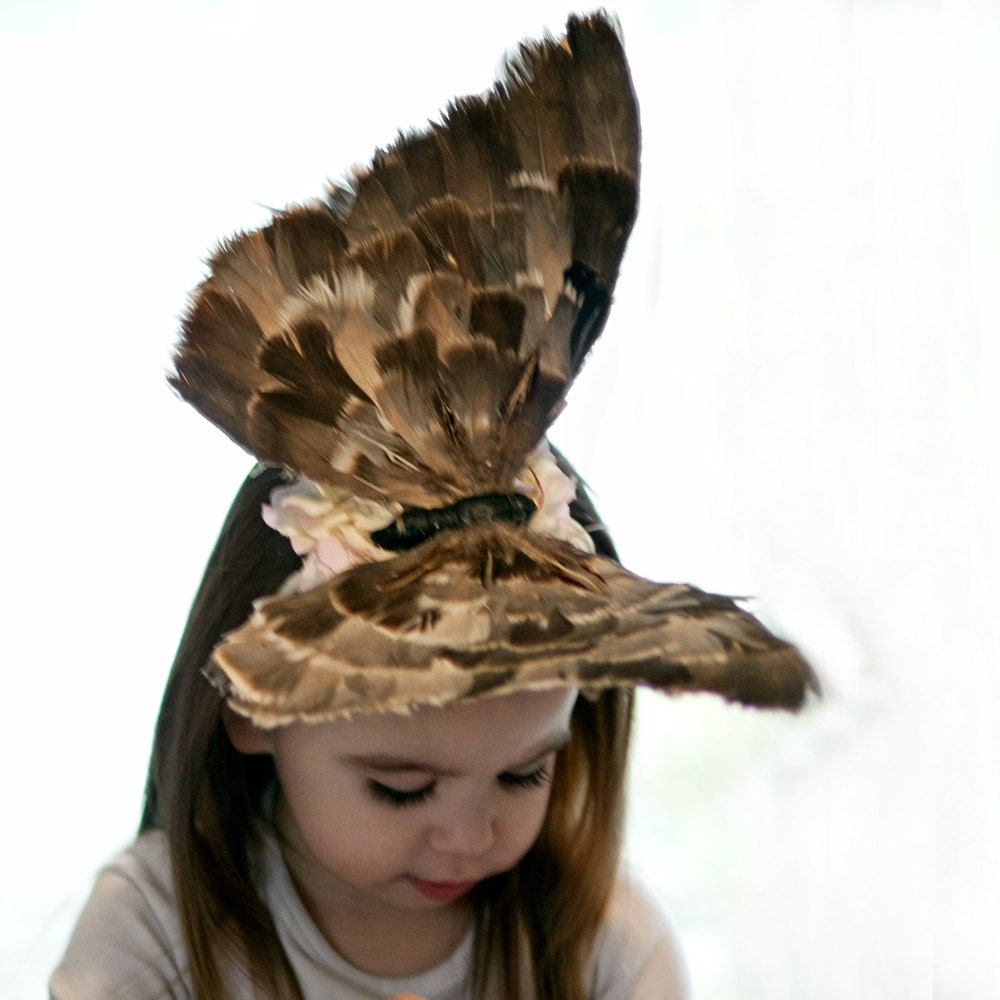 Baby Hat Crazy Hat Day Or Runway Chic Butterfly By Amarmi