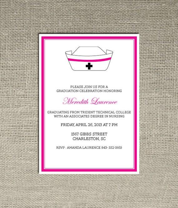 Etsy Graduation Invitation for good invitation template