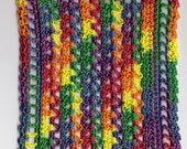 Crocheted Dollhouse Blanket Fiesta