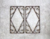 antique architectural brass hangings