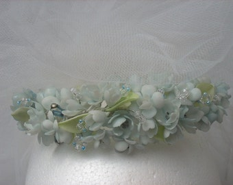 FLORAL HEADDRESS-,Latest Trends,, Spring-Brides,Romantic Brides