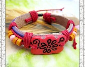 Shangri-Lla Flower Bracelet