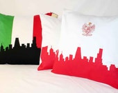 3 Custom Flag Pillows - RESERVED for Geri
