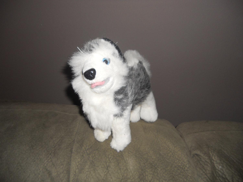 White Husky Stuffed Animal