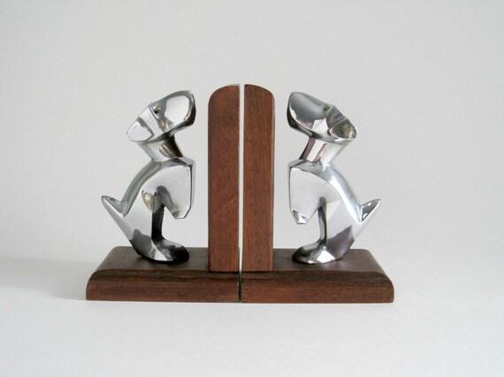 Art Deco Terrier Dog Bookends - Scottie Dog, Scotty