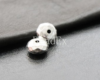 12 pcs / Spacer / Faceted / Dount / Oxidized Silver / Base Metal  (YA12275//D84)
