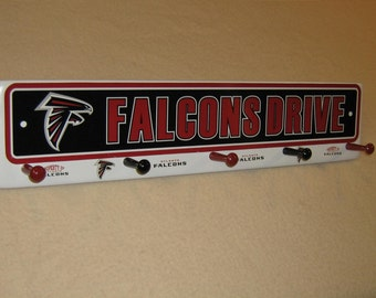 "Atlanta Falcons coat rack "" hangup """