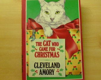 Vintage Book The Cat Who Came For Christmas