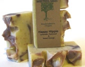 Happy Hippie- Natural Soap, Vegan Soap, Homemade Soap