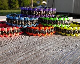Camo Paracord 550 Bracelets