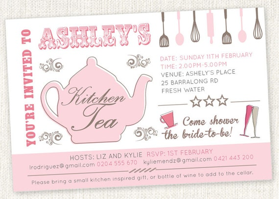 Wedding Shower Invitations Etsy was perfect invitation layout
