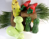 Vintage Salt and Pepper Shakers set of four 1950 to 1960