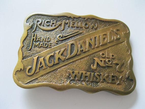 Vintage Jack Daniel's Whiskey Belt Buckle