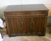 Vintage Expandable Buffet Table 1970s