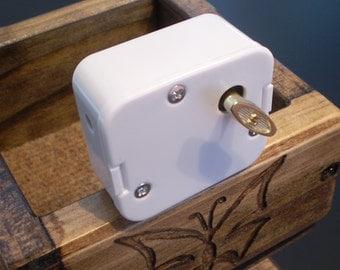 Pachelbel's Canon - 18 Note Music Box Movements  - White Case