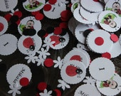 300 Ladybug Confetti / Personalized / Birthday / Baby Shower- Feature on The Review Stew